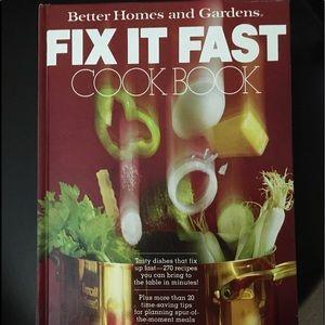 BETTER HOMES & GARDENS FIX IT FAST COOKBOOK